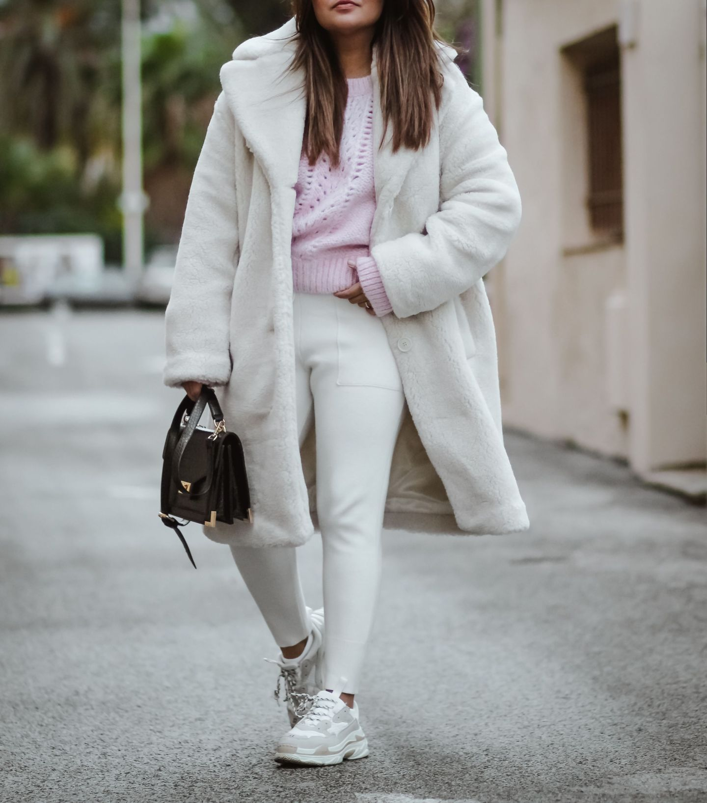 manteau blanc femmme, and other stories, manteau teddy, teddy coat, zara, the kooples, the green ananas, the white teddy coat
