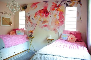 Girls small bedroom ideas