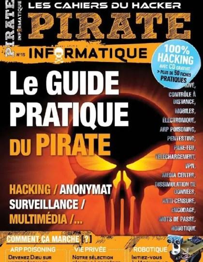 Pirate Informatique N°15 Novembre 2012 à Janvier 2013