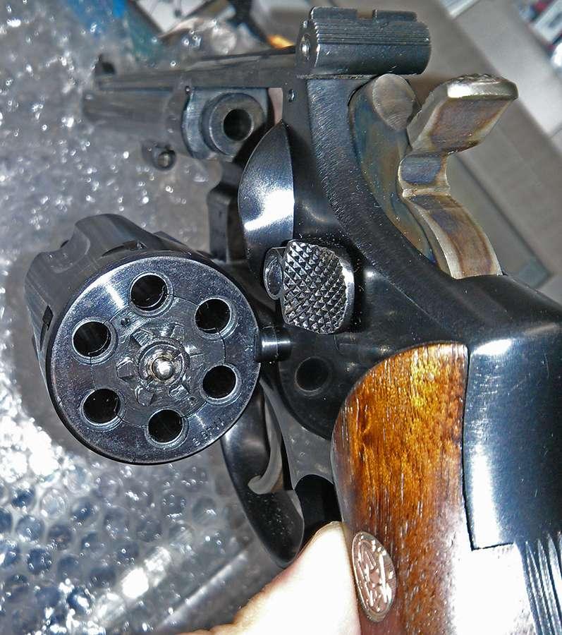 Desert Ironwood Burl Gun Grips