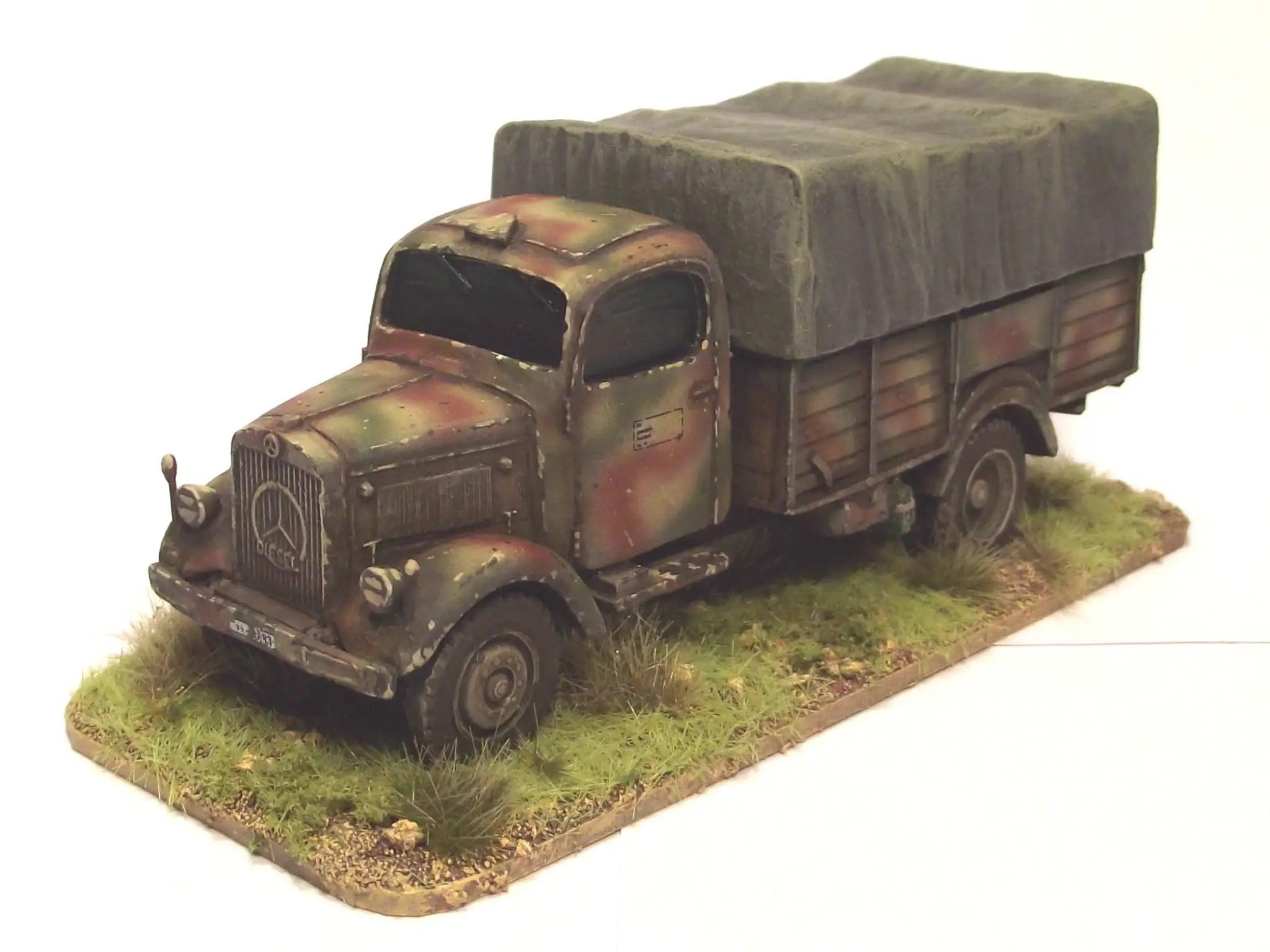 Panzerfaust's Trucks