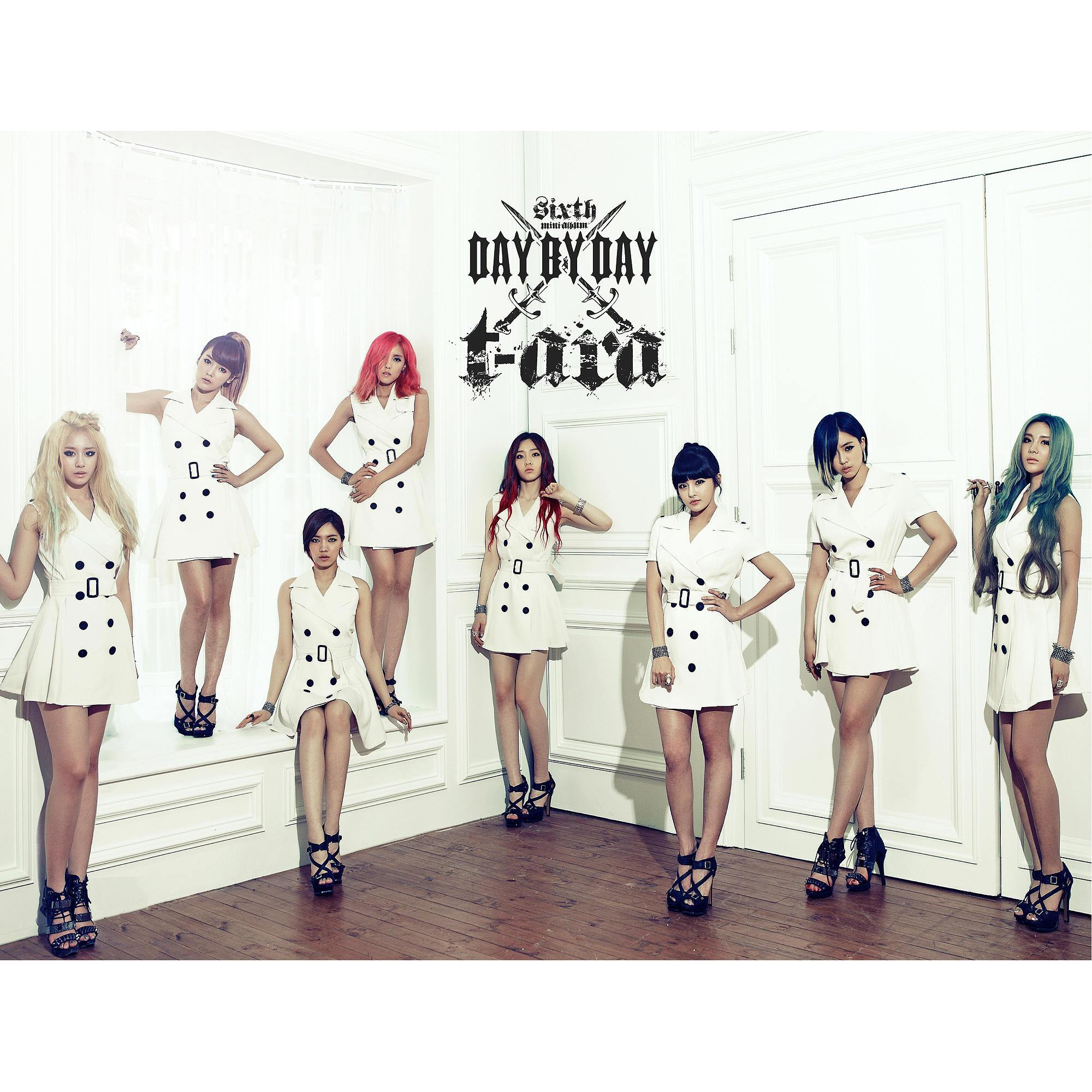 [Mini Album] T-ara - Day By Day [6th Mini Album]