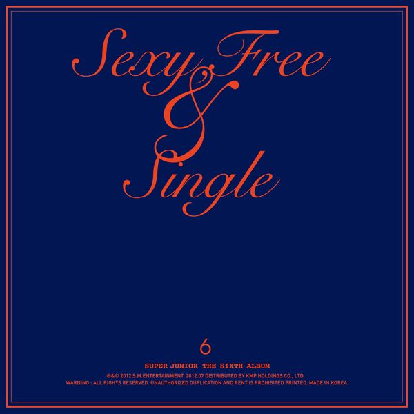 [Album] Super Junior - Sexy, Free & Single