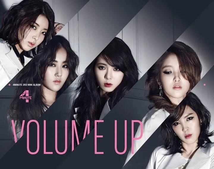 [Mini Album] 4MINUTE - VOLUME UP (3rd Mini Album)