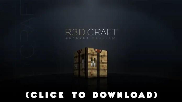 R3D.CRAFT Resource Pack 1.8.8, 1.8.7, 1.8.3, 1.8, 1.7.10, 1.6.4