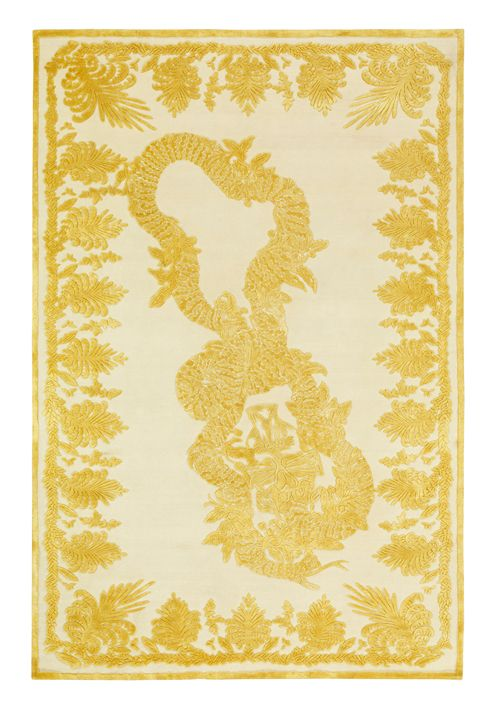 The Rug Company y Alexander McQueen- Military Brocade Ivory