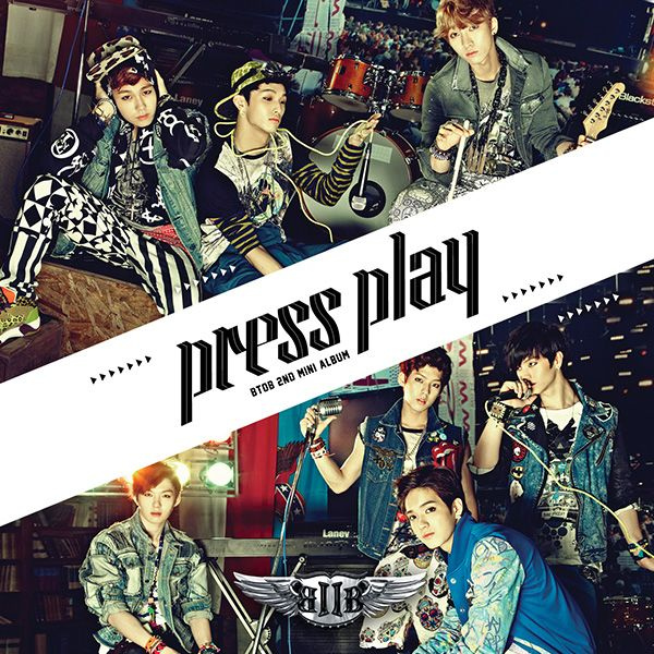 [Mini Album] BTOB - Press Play