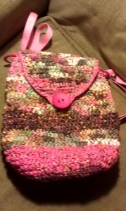 This was my first venture to making backpacks... saved amazing colors like flaminco pink, and deep pinkey-browns....
