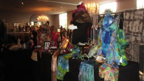 Another view of my booth from the other end. Yes, i dragged my mannequin out!!!