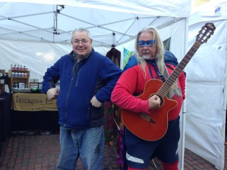 Steve and Captain Guitar Man