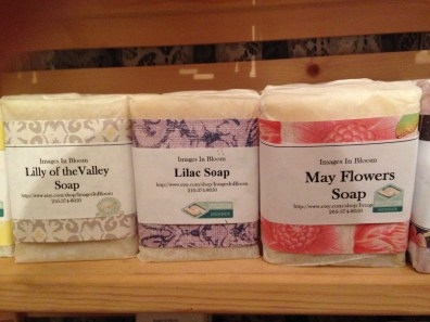 And the floral scented soaps are very popular this year.