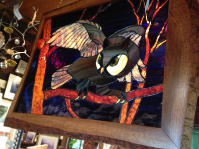 Stunning Stained Glass Owl