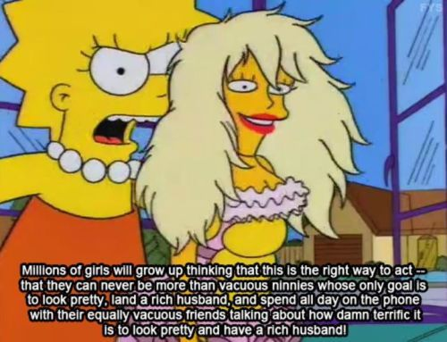 Image result for lisa simpson feminist