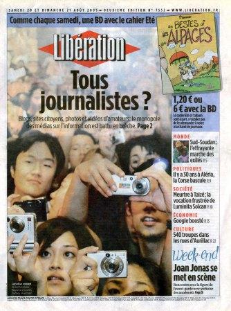 Libération du 21/08/2005.