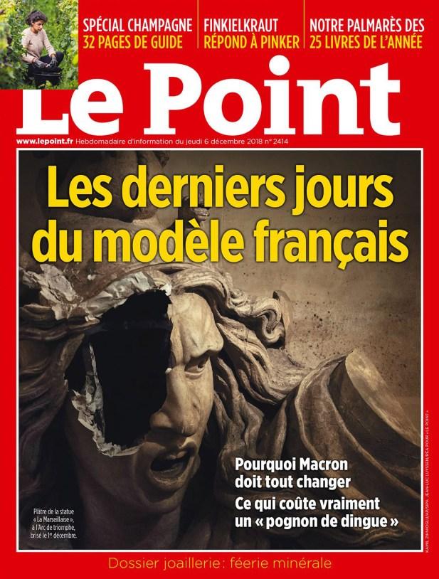 Le Point, 05/12/2018.