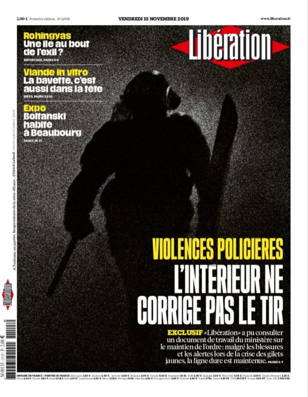 Libération, 15/11/2019.