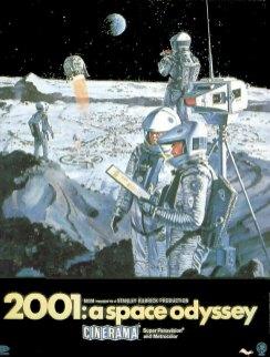 2001, A space Odyssey, Kubrick, 1968.