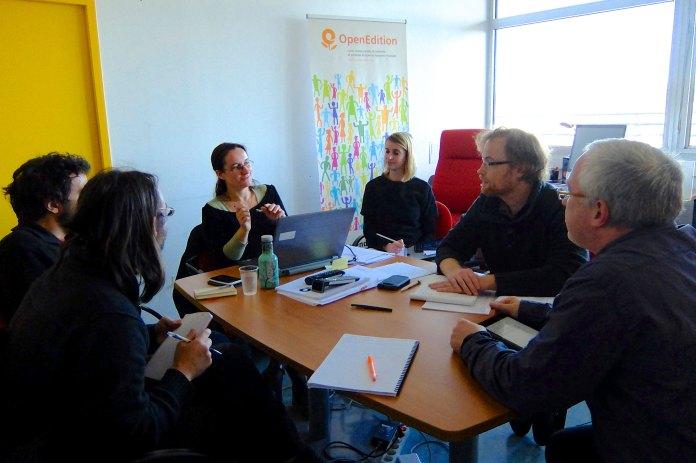 Février 2014, réunion à Marseille.