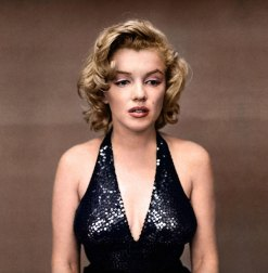 Zuzzah, col. de Marilyn Monroe (Richard Avedon), 1957.