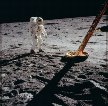 Photo N. Armstrong, Nasa, 20/07/1969.