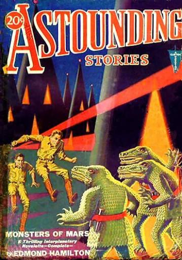 Astounding Stories, 1931.
