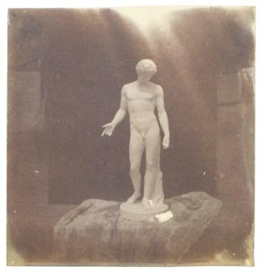 Bayard, Antinoüs du Capitole, 1839-1840, positif direct (SFP).