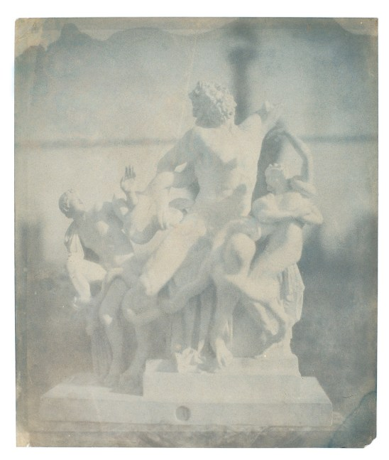 Bayard, groupe du Laocoon, 1839-1840, positif direct, SFP.