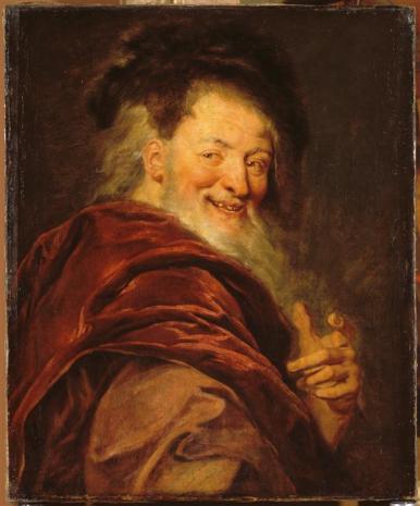 Antoine Coypel, Démocrite, 1692.