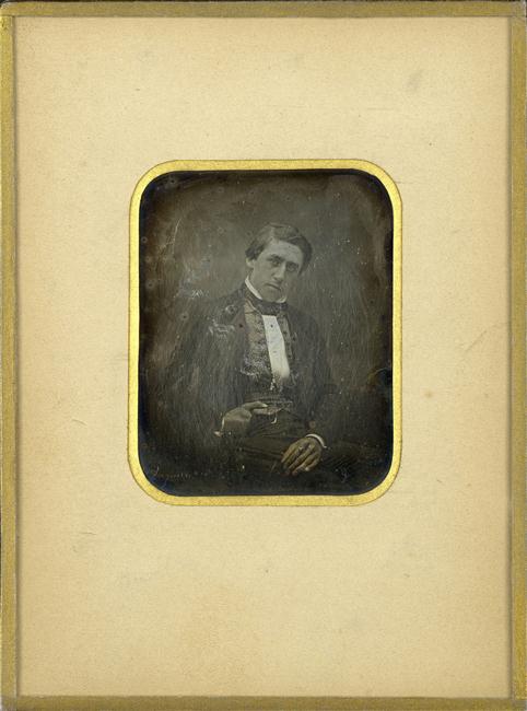 Daguerre, portrait d'homme (1), BNF.