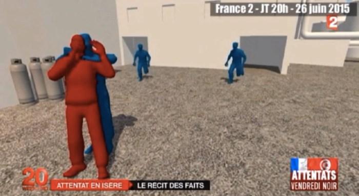 Journal télévisé, France 2, 26 juin 2015.