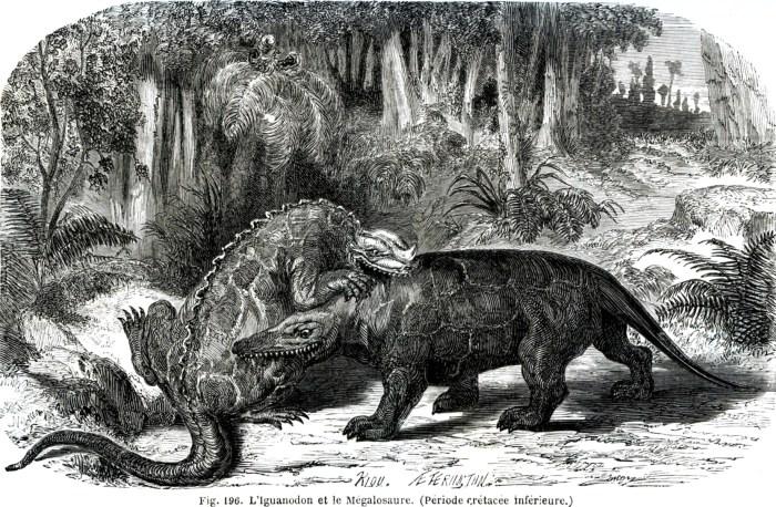 Louis Figuier, La Terre avant le déluge, 1864.