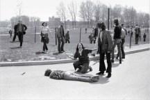 John Paul Filo, fusillade de l'université d'État de Kent, 1970.