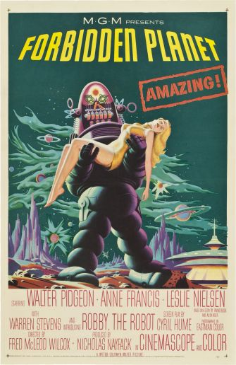 Forbidden Planet, 1956.