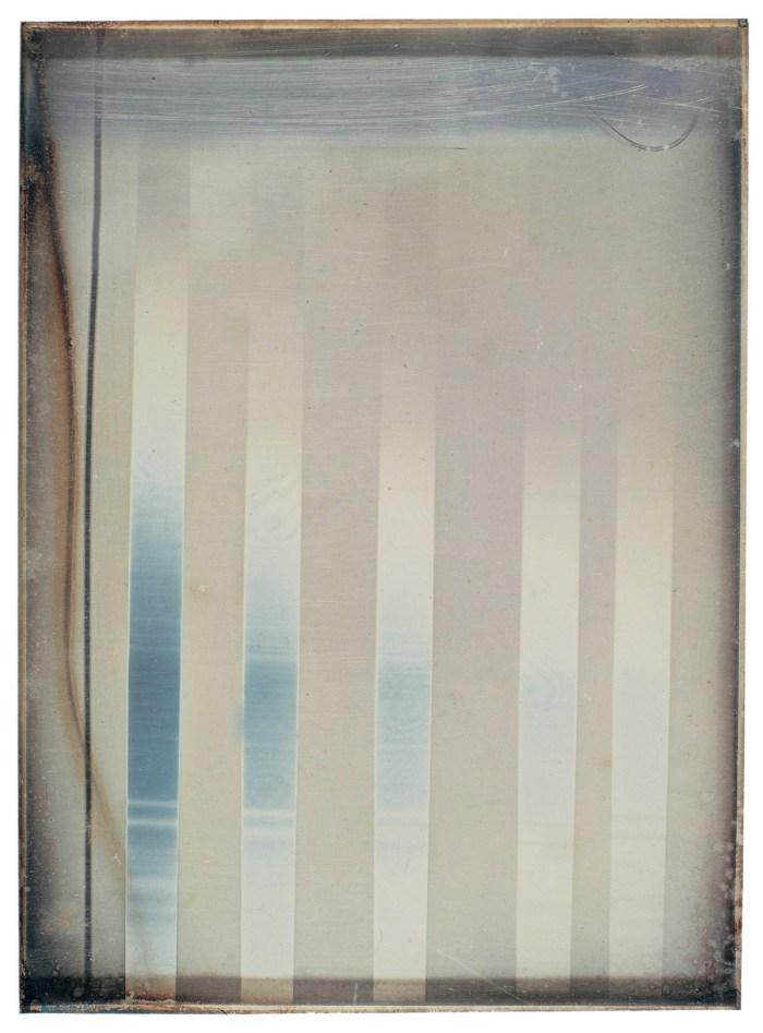 Léon Foucault, spectre solaire, 1844, daguerréotype, 128 x 94 mm (coll. SFP).