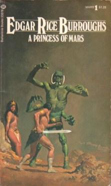 Gino D'Achille, John Carter, éd. Ballantines Books, 1973.