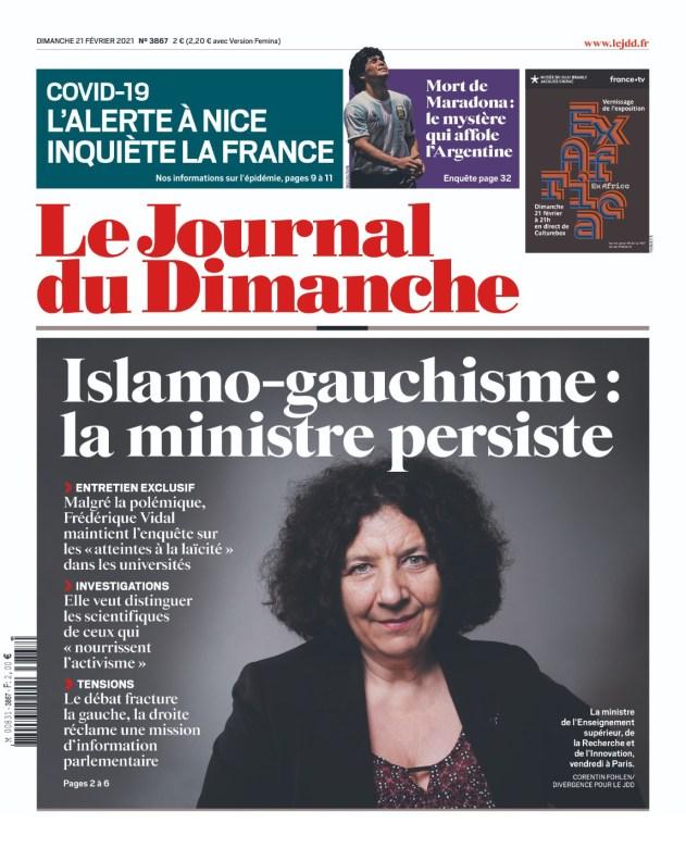 Le JDD, 21/02/2021.
