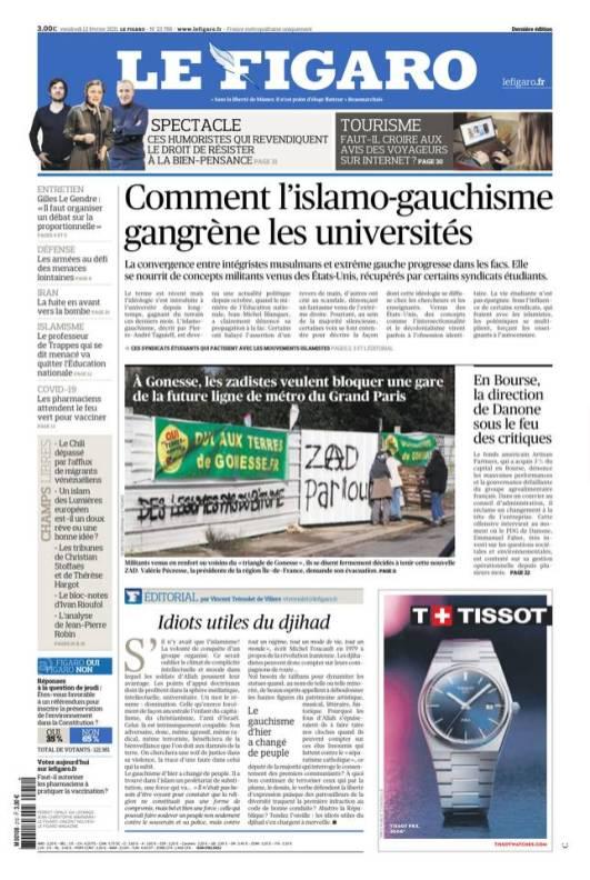 Le Figaro, 12/02/2021.
