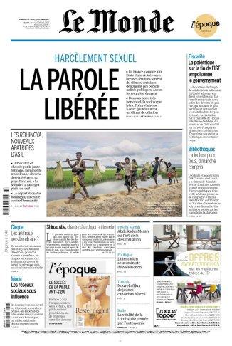 Le Monde, 17/10/2017.