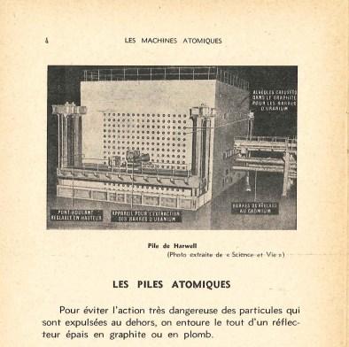 Pile atomique de Harwell, 1948.