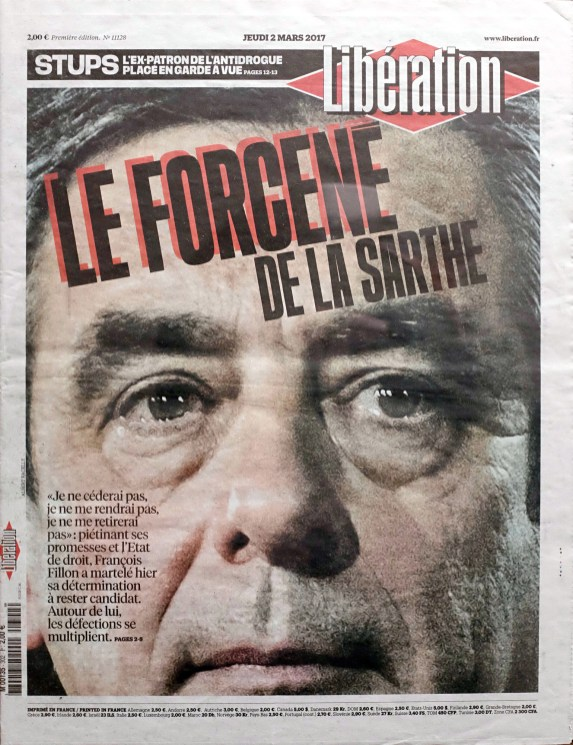 Libération, 02/03/2017.