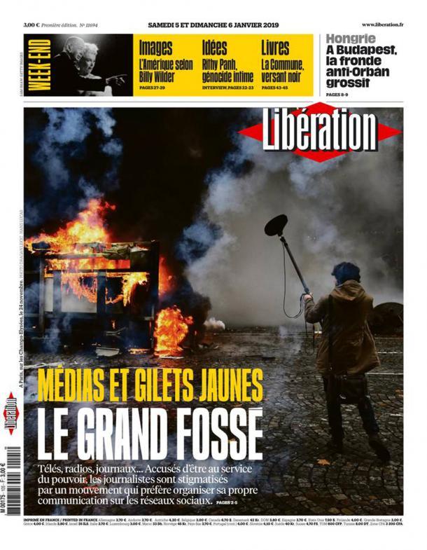 """Libé n'est pas """"Gilets jaunes"""""""