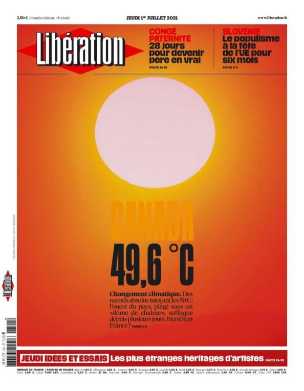 Libération, 01/07/2021.
