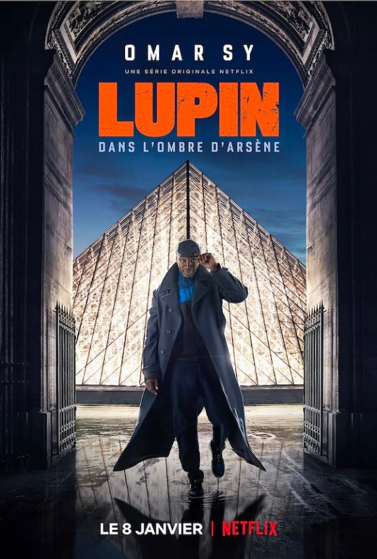 Lupin, affiche, 2021.