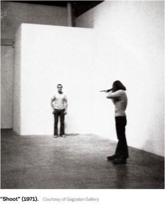 New Republic, Shoot, Chris Burden, 1971.