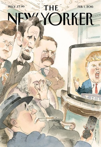 Barry Blitt, New Yorker, 01/02/2016.