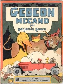 Rabier, Gédéon mécano, 1927.