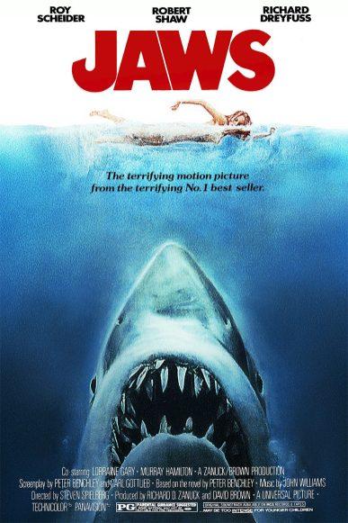 Roger Kastel, affiche pour Jaws, 1975.