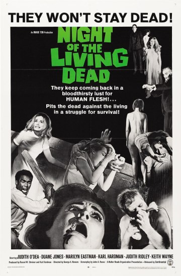 George Romero, Night of the Living Dead, 1968.