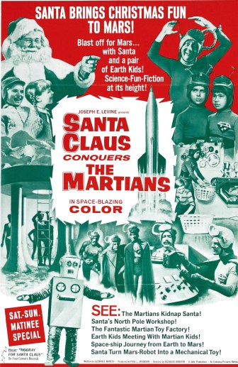 Santa Claus conquers the martians, 1964.