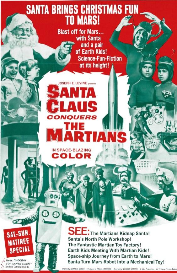 Santa Claus conquers the martians, 1964.